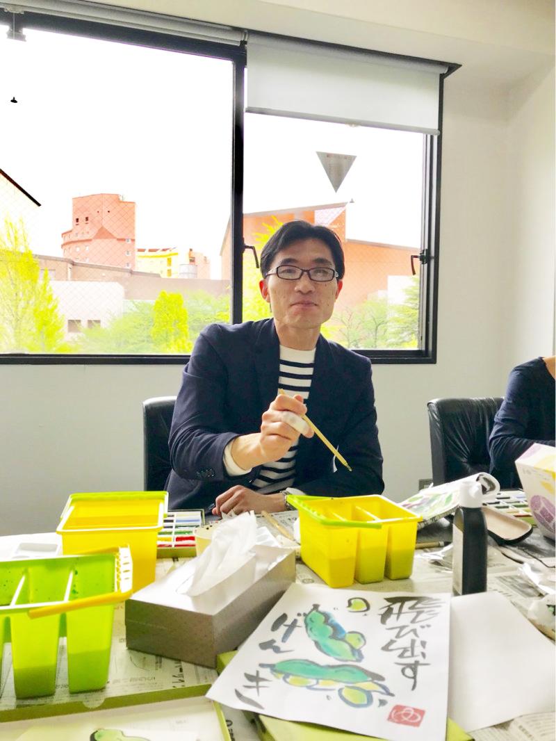 2018年4月16日 絵手紙教室