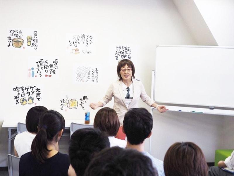 笑手紙教室、トークセッション